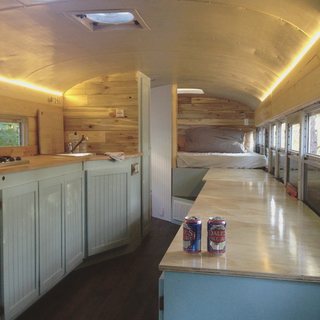 Outside Found | Bus Conversion Project