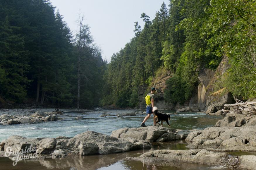 Outside Found   Elwha River