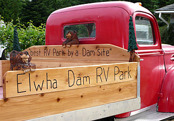 Outside Found | The Elwha Dam RV Park