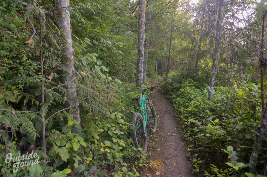 Outside Found Bus | Mountain Biking Dry Hill in Port Angeles, WA